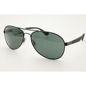 Ray Ban RB 3549 Sunglasses 006/71 Black Green NWT